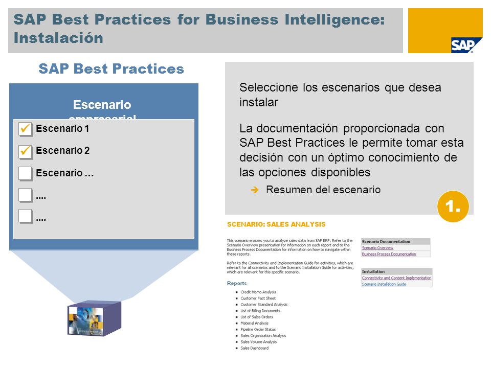 SAP Best Practices for Business Intelligence: Instalación