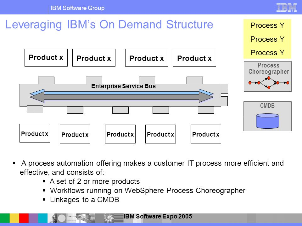 Leveraging IBM's On Demand Structure