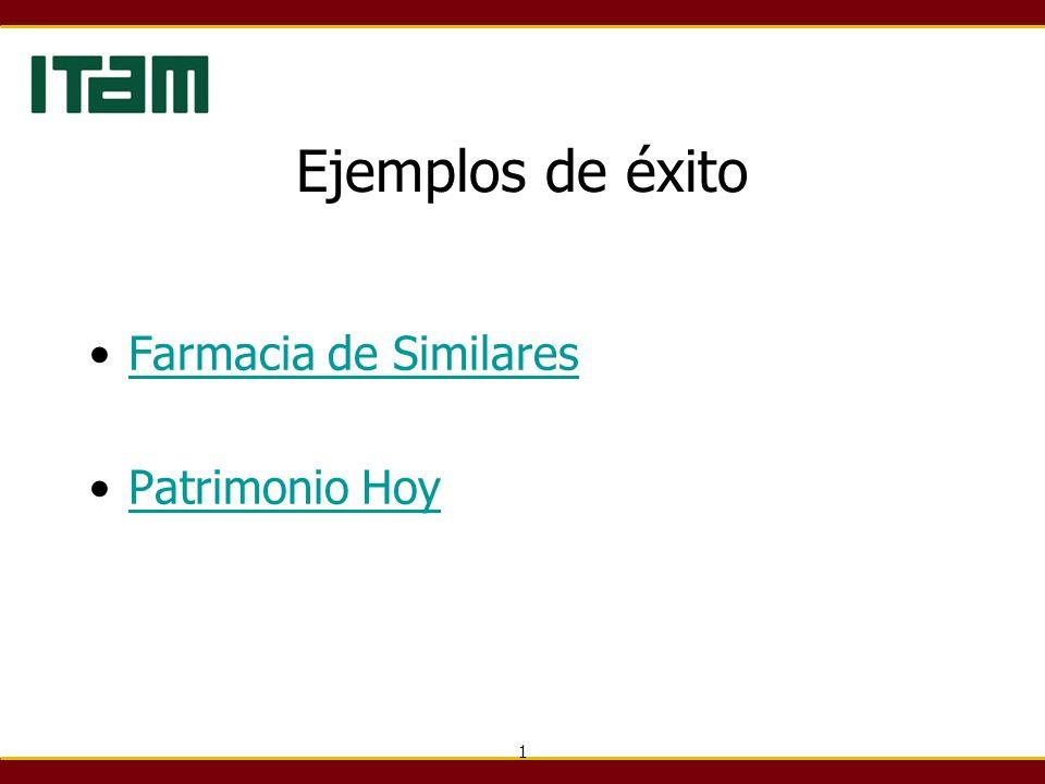 Ejemplos de éxito Farmacia de Similares Patrimonio Hoy 1
