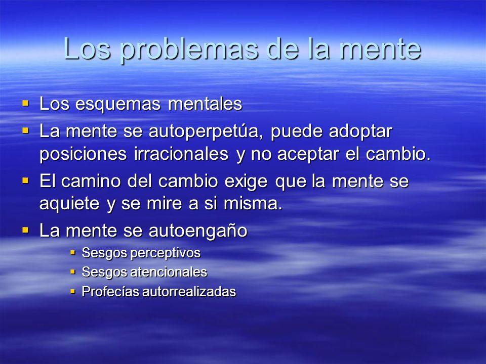 Los problemas de la mente