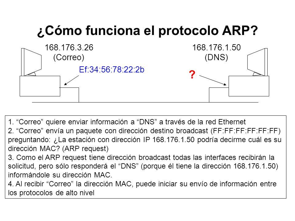¿Cómo funciona el protocolo ARP