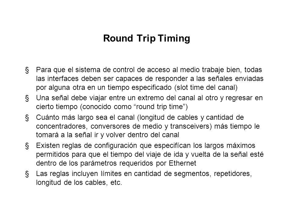 Round Trip Timing