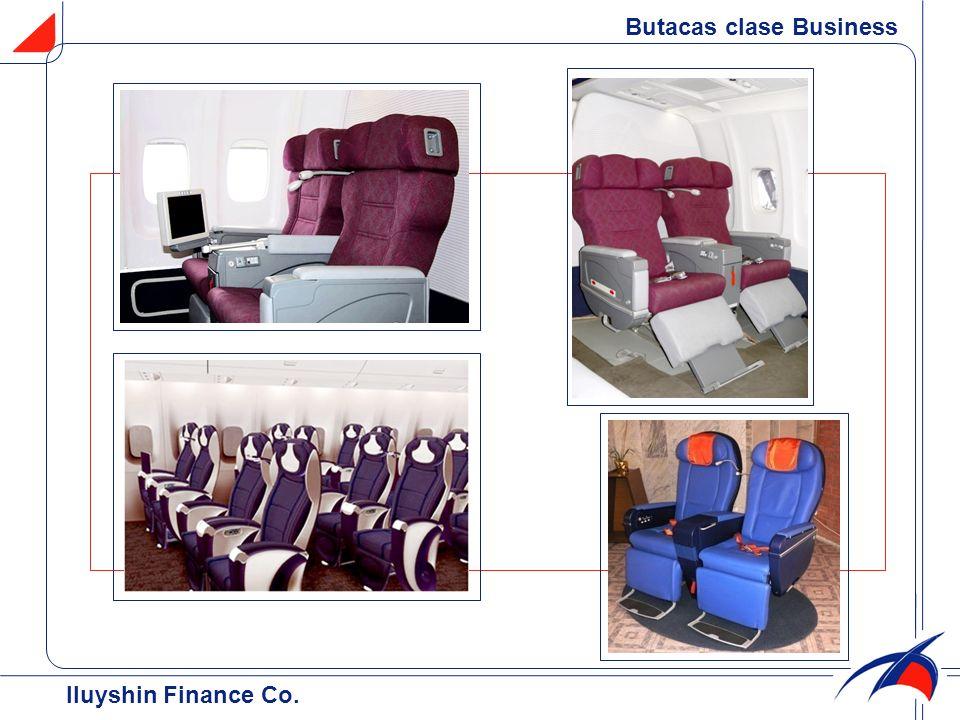 Butacas clase Business