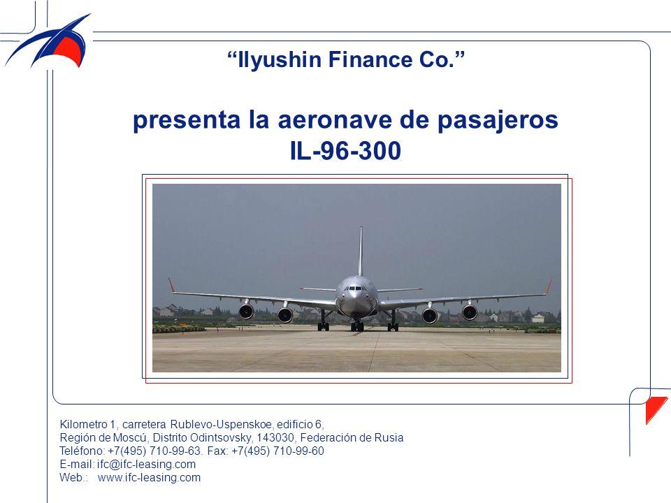 presenta la aeronave de pasajeros