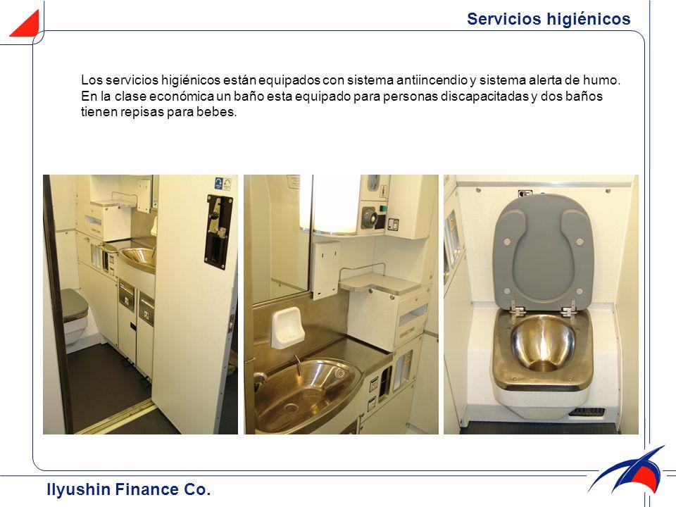 Servicios higiénicos Ilyushin Finance Co.