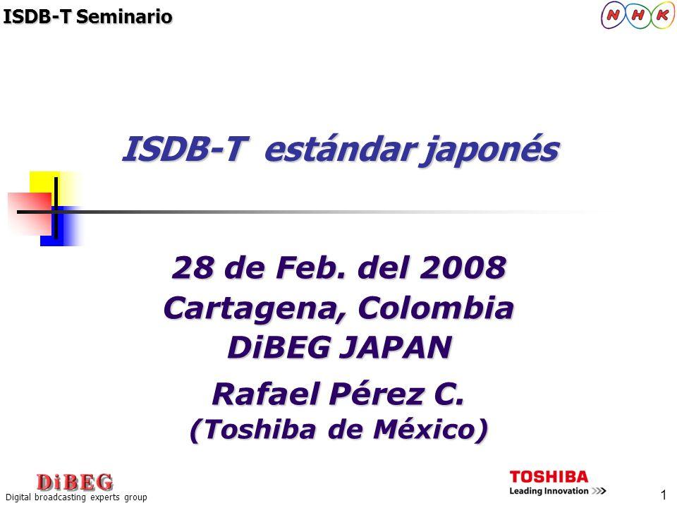 ISDB-T estándar japonés