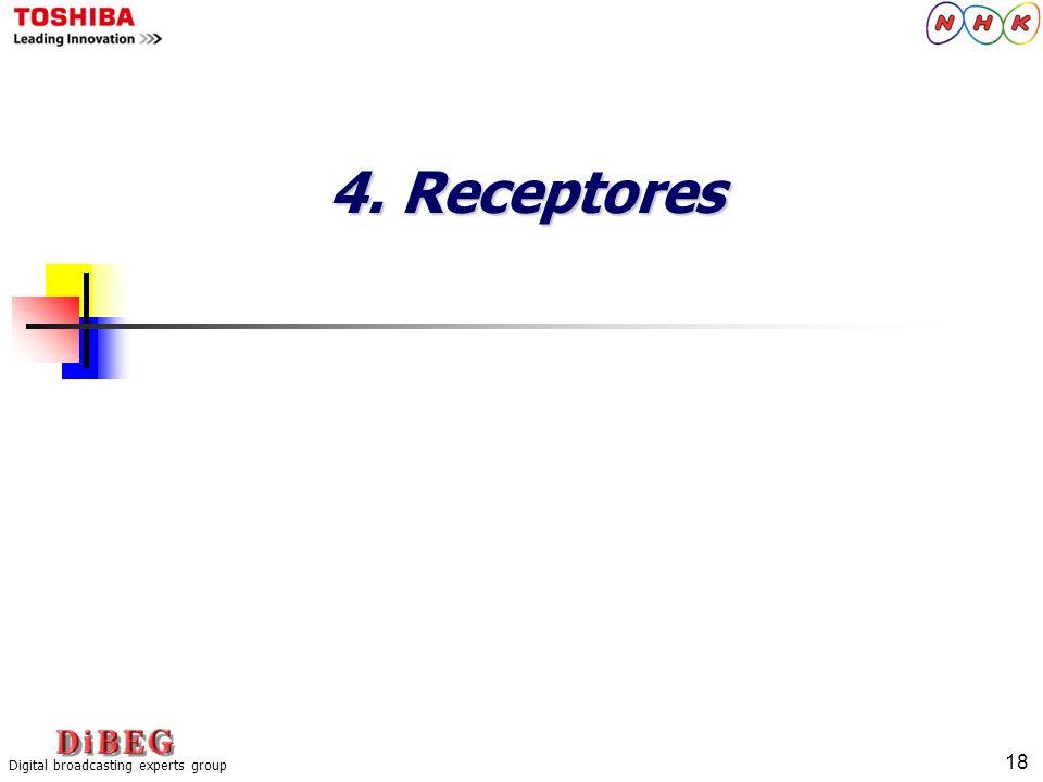 4. Receptores