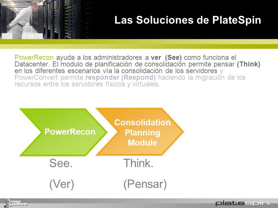 Las Soluciones de PlateSpin