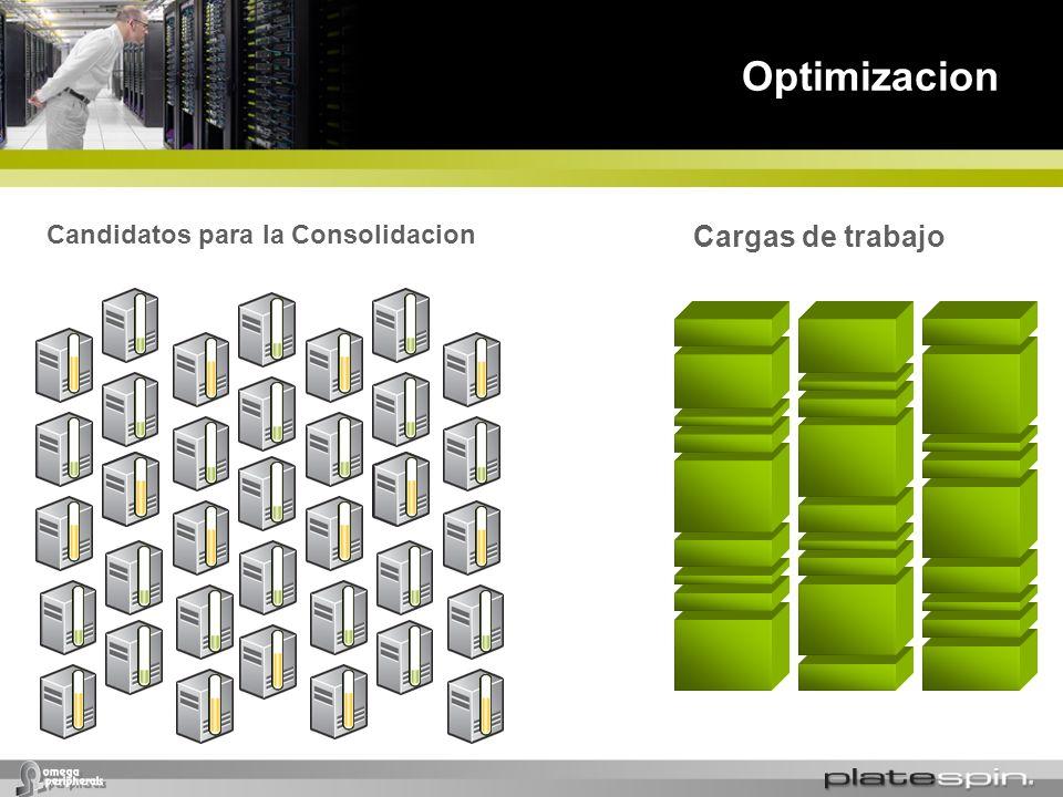 Optimizacion Candidatos para la Consolidacion Cargas de trabajo