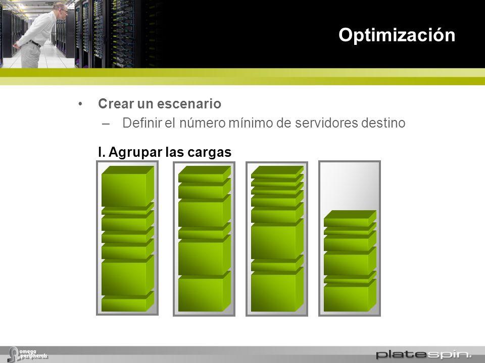 Optimización Crear un escenario