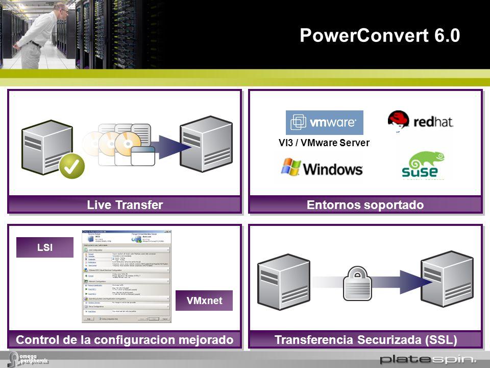 Control de la configuracion mejorado Transferencia Securizada (SSL)