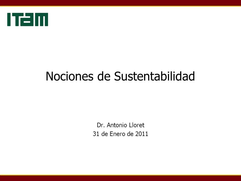 Nociones de Sustentabilidad