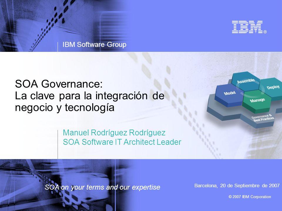 SOA Governance: La clave para la integración de negocio y tecnología
