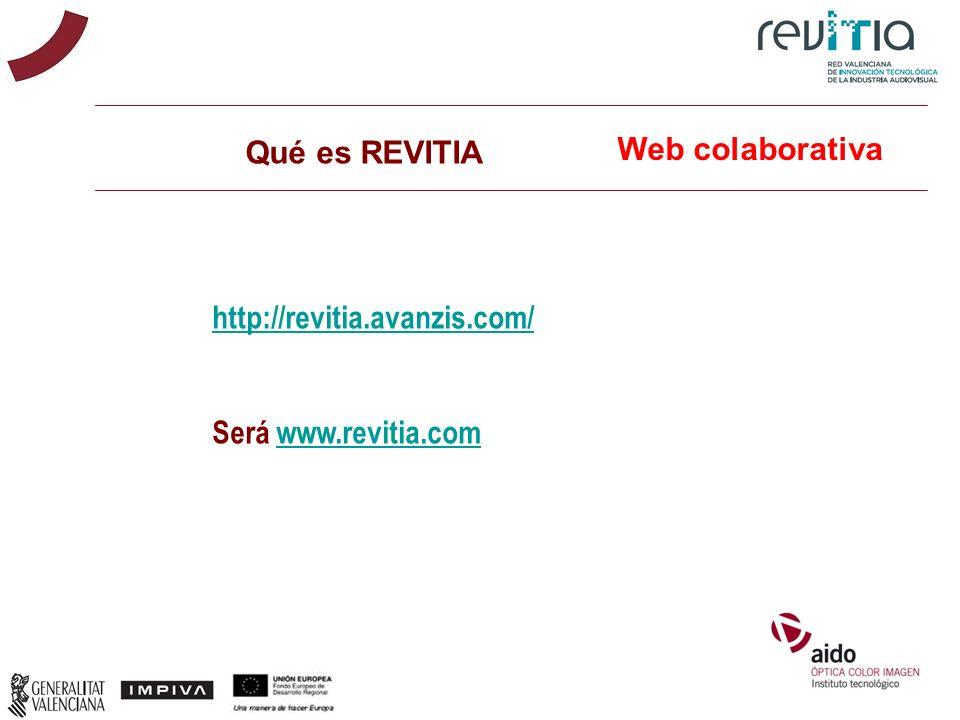 Qué es REVITIA Web colaborativa