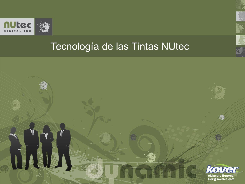Tecnología de las Tintas NUtec