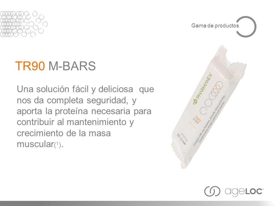 Gama de productosTR90 M-BARS.