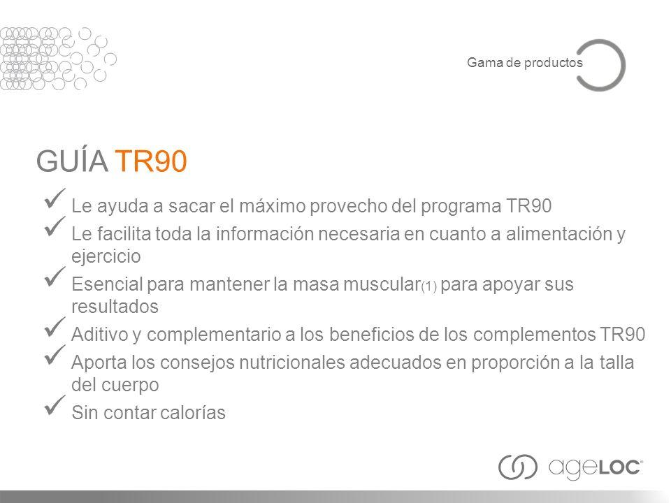GUÍA TR90 Le ayuda a sacar el máximo provecho del programa TR90
