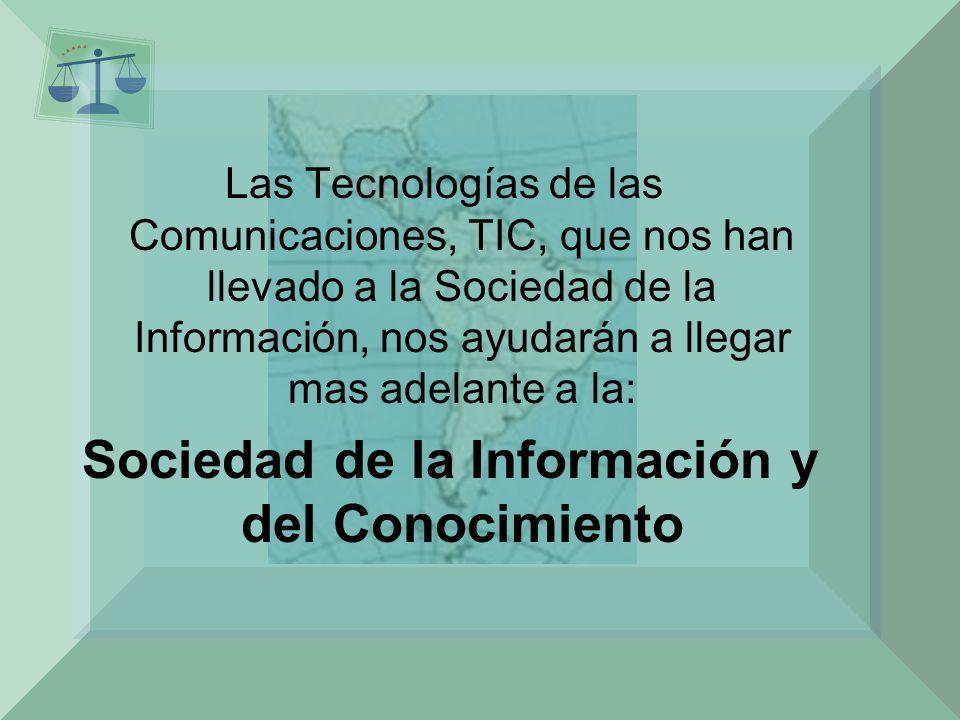 Sociedad de la Información y del Conocimiento