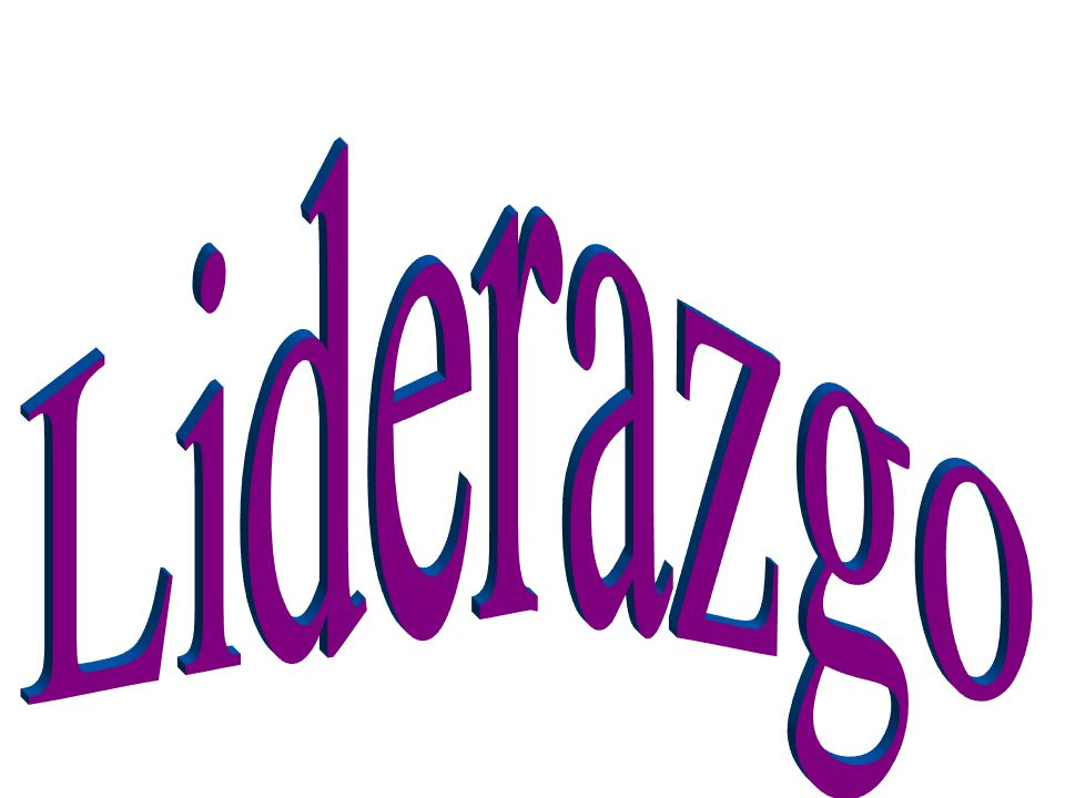 Liderazgo who considers yourself a leader – I would say that by even being member of initiating group you are showing leadership.