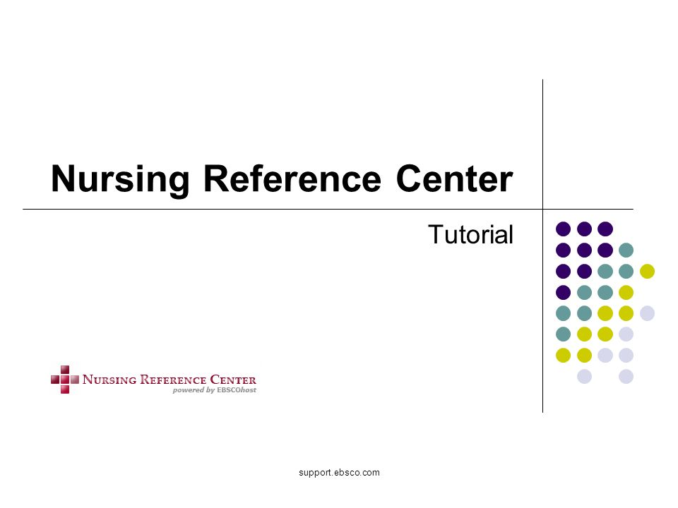 Nursing Reference Center