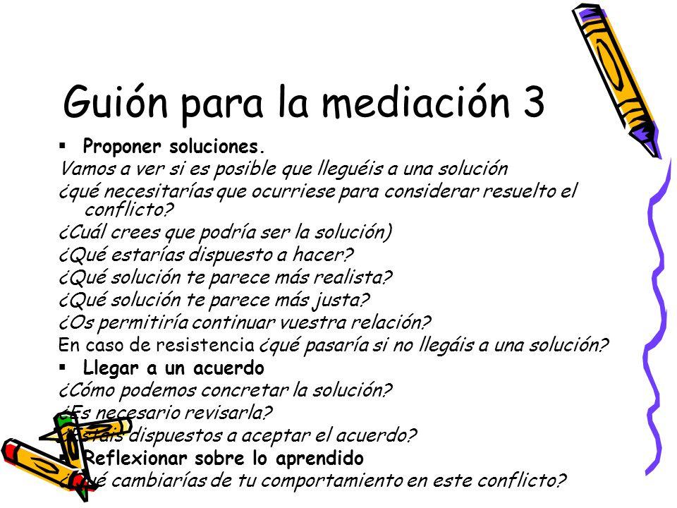 Guión para la mediación 3