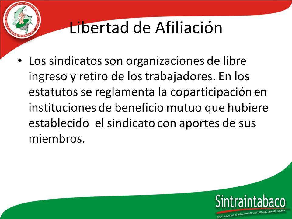 Libertad de Afiliación