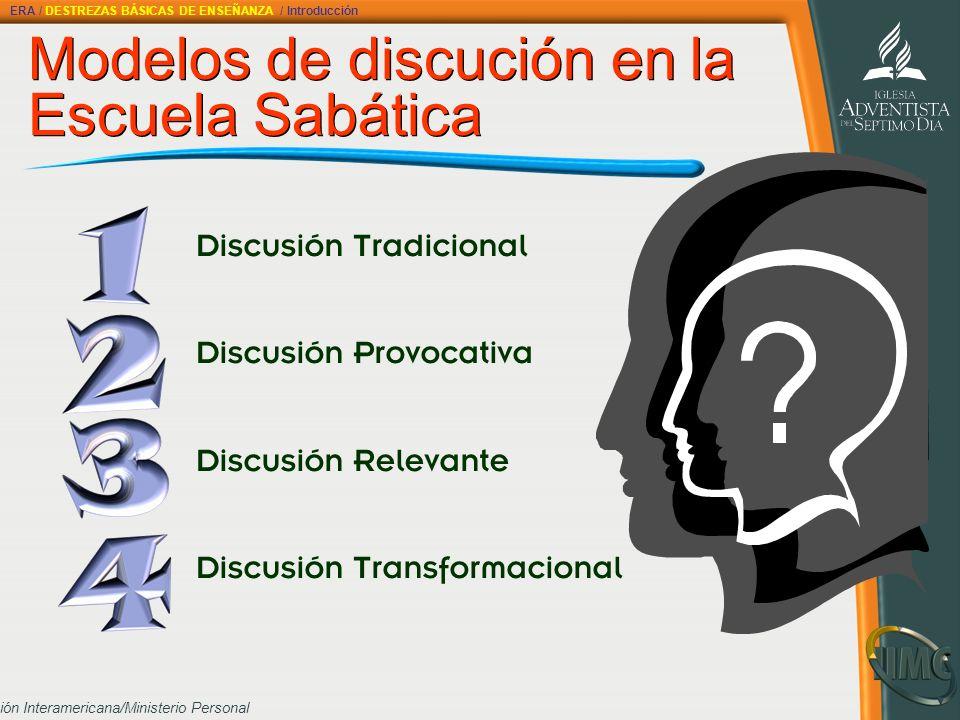Modelos de discución en la Escuela Sabática