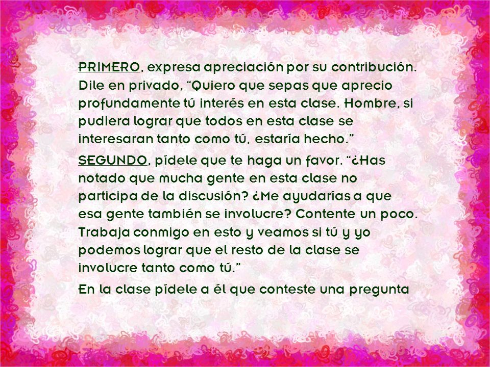 PRIMERO, expresa apreciación por su contribución
