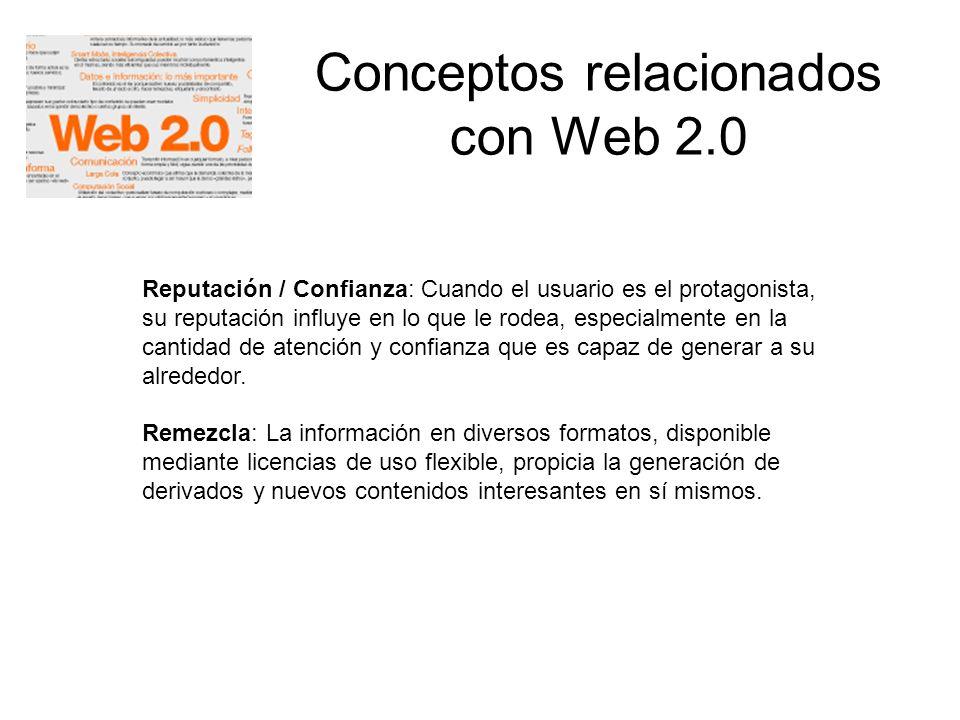 Conceptos relacionados con Web 2.0