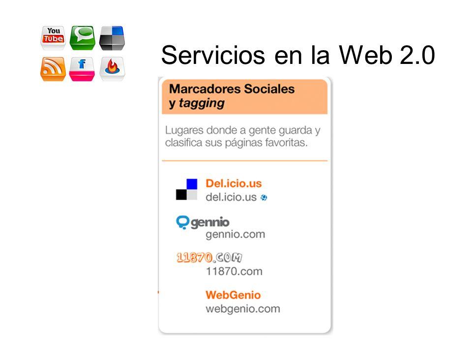 Servicios en la Web 2.0