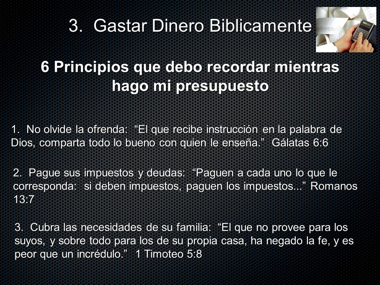 6 Principios que debo recordar mientras