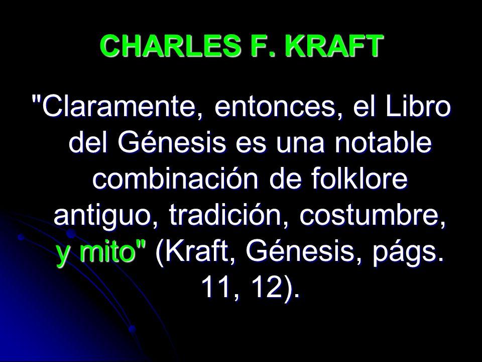 CHARLES F. KRAFT