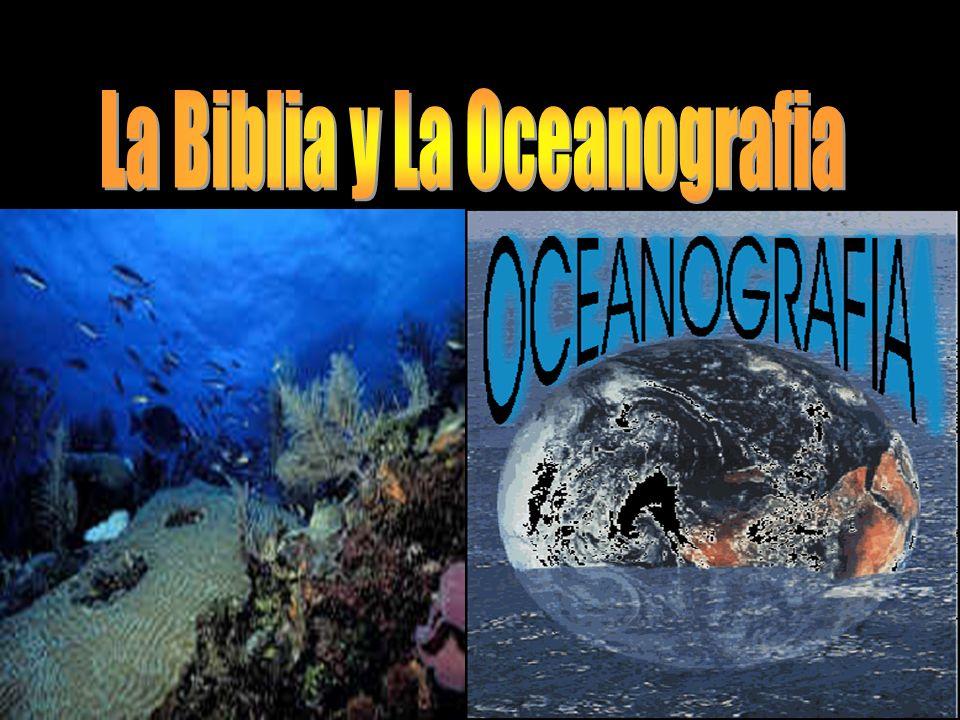La Biblia y La Oceanografia