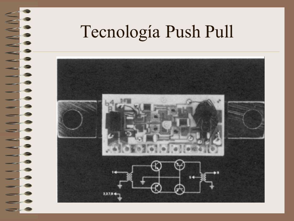 Tecnología Push Pull