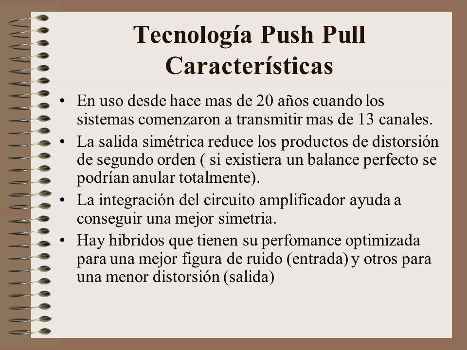 Tecnología Push Pull Características