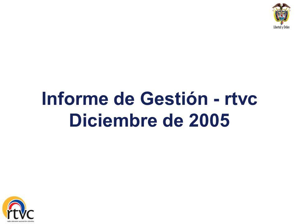 Informe de Gestión - rtvc