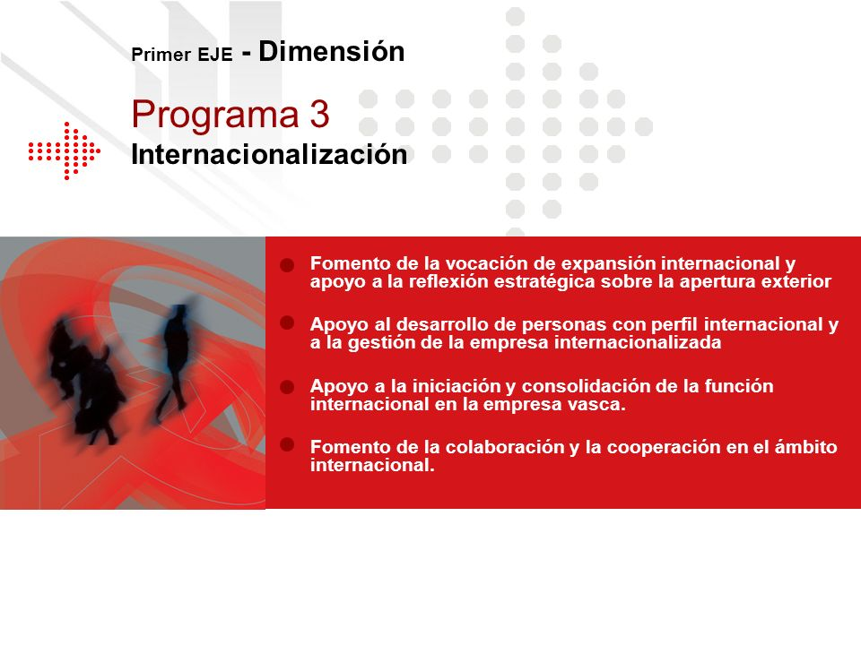 Programa 3 Internacionalización