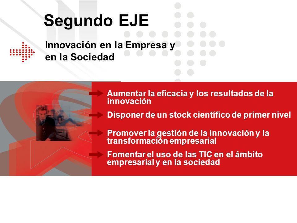 Segundo EJE Innovación en la Empresa y en la Sociedad