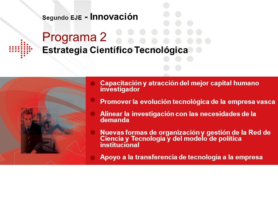 Programa 2 Estrategia Científico Tecnológica