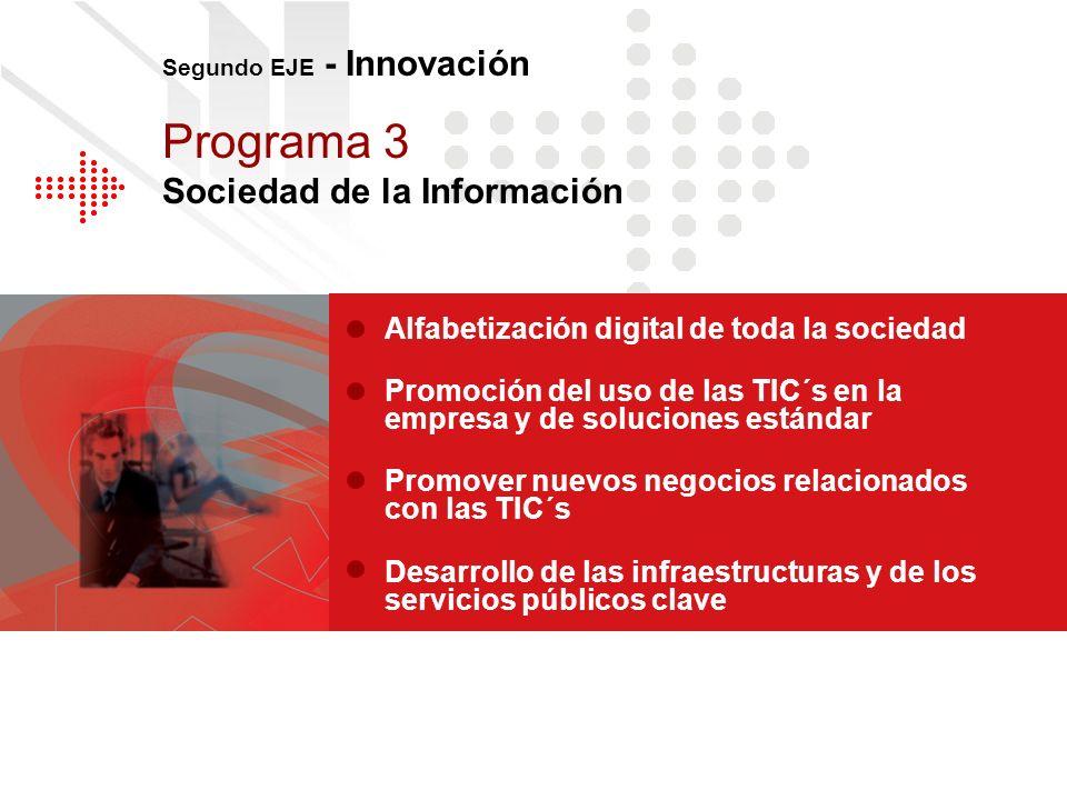 Programa 3 Sociedad de la Información