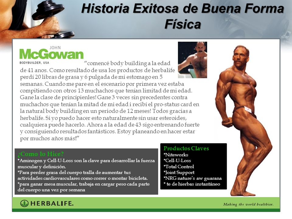 Historia Exitosa de Buena Forma Física