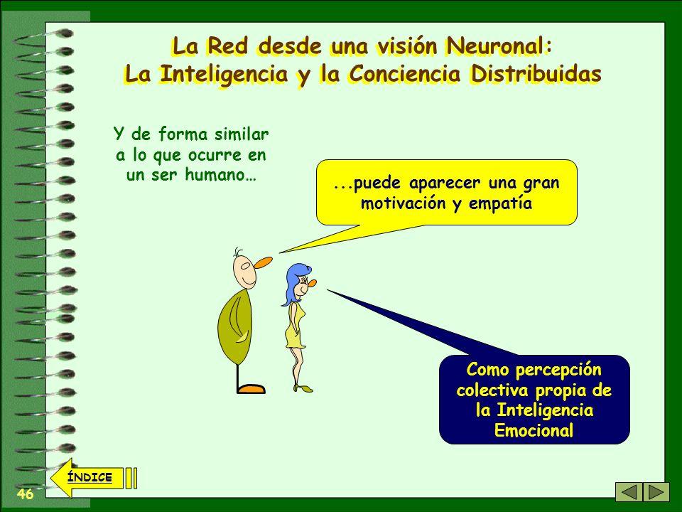 La Red desde una visión Neuronal: La Inteligencia y la Conciencia Distribuidas
