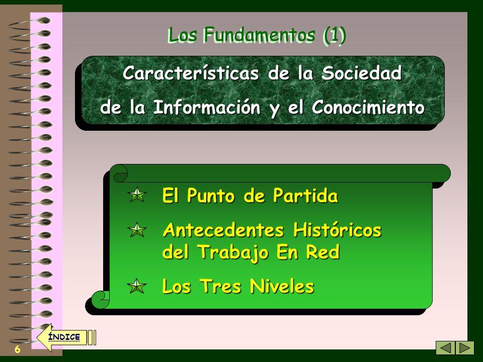 Características de la Sociedad de la Información y el Conocimiento