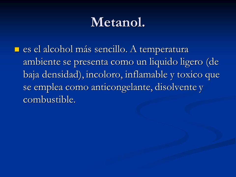 Metanol.