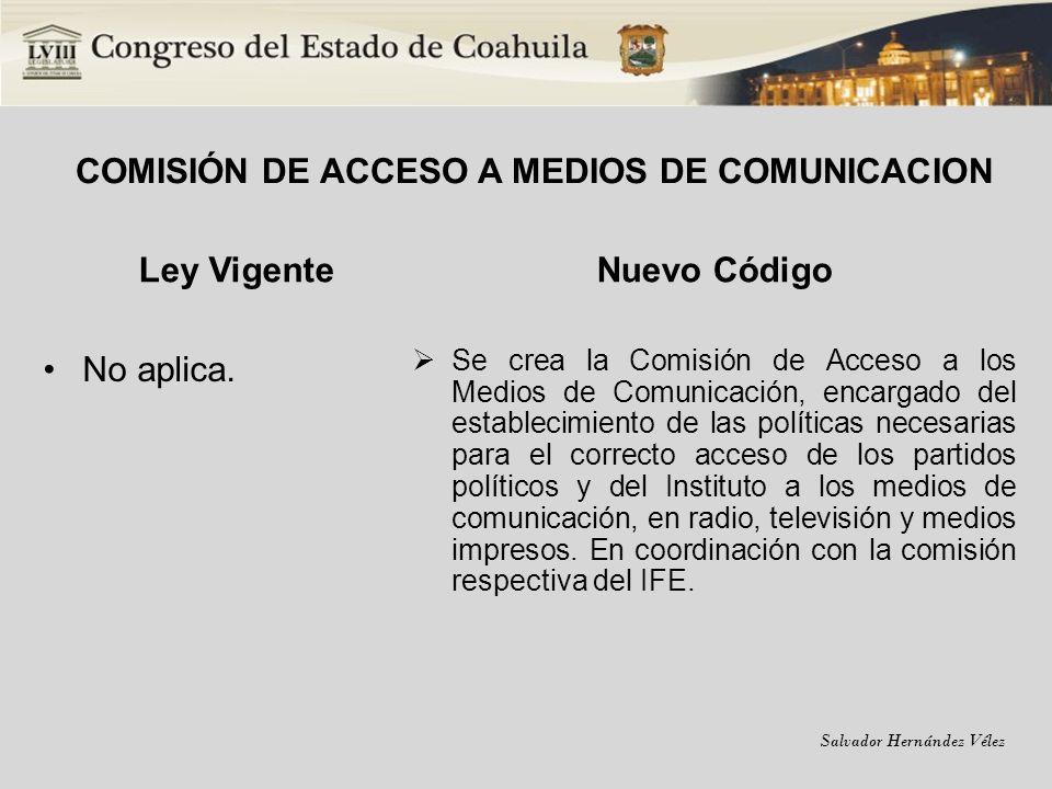 COMISIÓN DE ACCESO A MEDIOS DE COMUNICACION