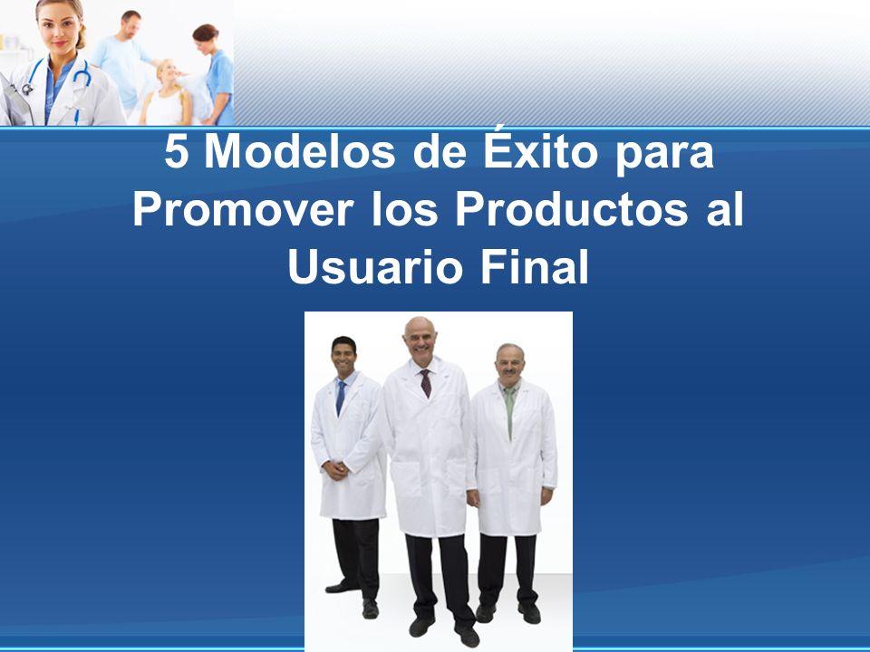 5 Modelos de Éxito para Promover los Productos al Usuario Final