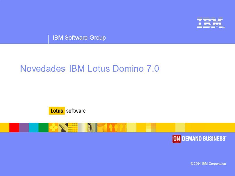 Novedades IBM Lotus Domino 7.0