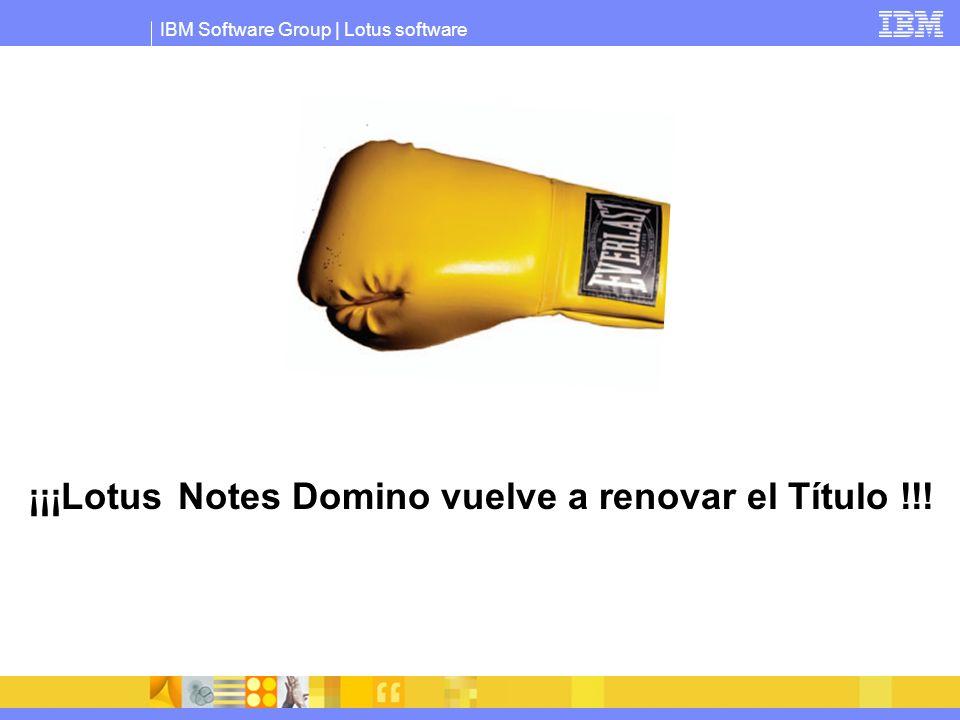 ¡¡¡Lotus Notes Domino vuelve a renovar el Título !!!