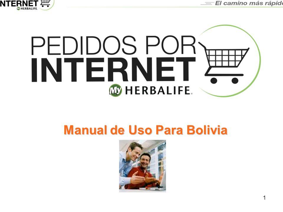 Manual de Uso Para Bolivia