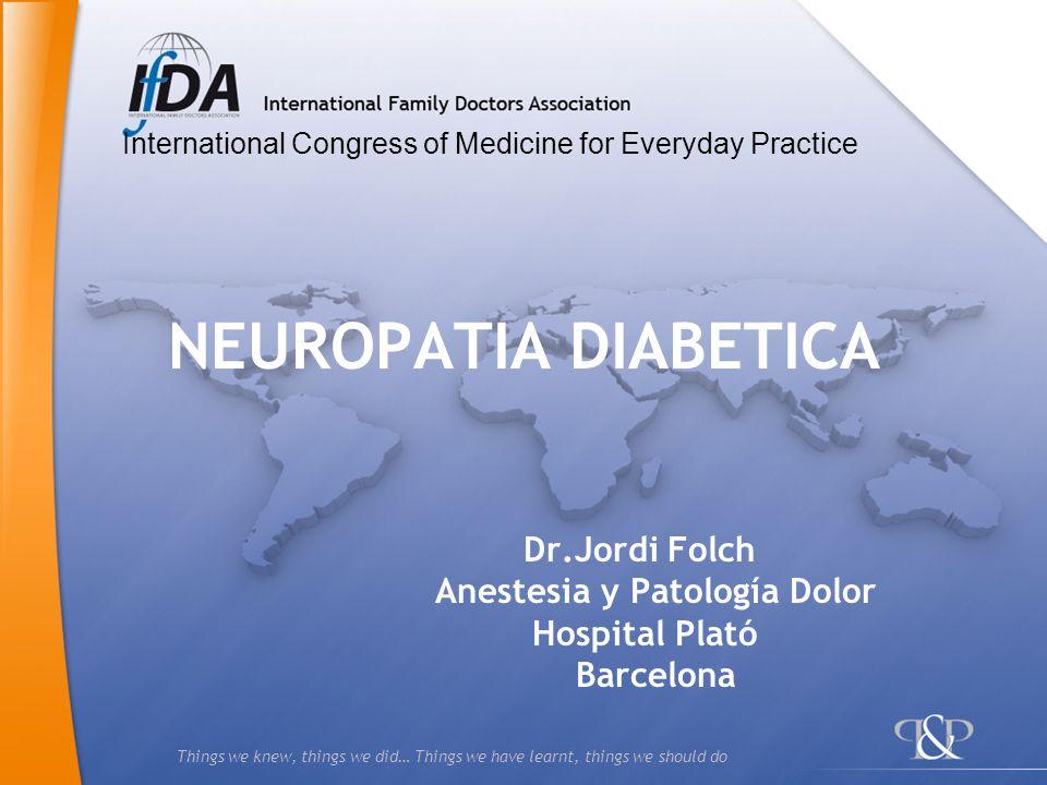 Dr.Jordi Folch Anestesia y Patología Dolor Hospital Plató Barcelona